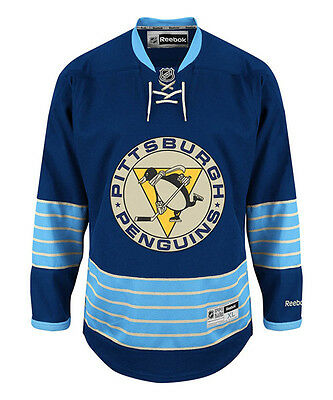 NHL Pittsburgh Penguins Throwback Premier Youth Ice Hockey Shirt Jersey