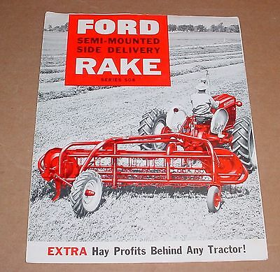 Old Ford Rake Brochure   Series 508