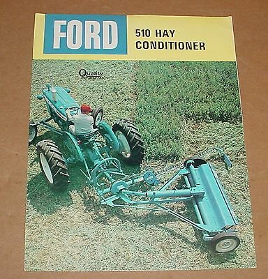 Old Ford Hay Conditioner Brochure