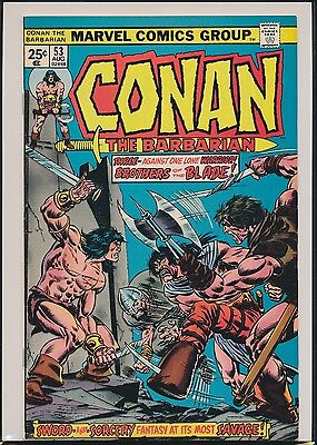 Conan the Barbarian #53 (Aug 1975, Marvel) 1st Print FN/VF