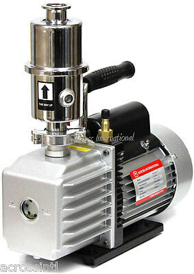 Ai EasyVac 7 cfm Vacuum Pump w/ Exhaust Filter for VO Chamber Vacuum Purge Oven