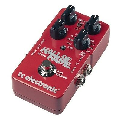 Brand New TC Electronic Hall of Fame Reverb Electric Guitar Effects FX Pedal