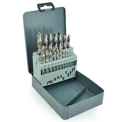Makita P-19906 Hss Metal Drill Bit Set In Case 1-10Mm 19 Piece Set