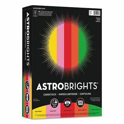 Astrobrights Colored Card Stock  - WAU21003