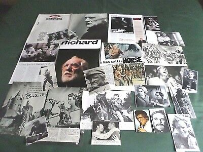 Richard Harris - Film Star - Clippings /cuttings Pack