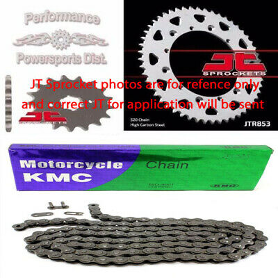 Suzuki Ds80 Ds 80 New Sprocket & Chain Set Kit 12T Front/34T Rear 1982 - 2003