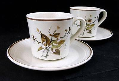 Royal Doulton WILD CHERRY 2 Cup & Saucer Sets LS1038 GREAT CONDITION