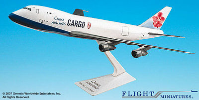 Flight Miniatures China Airlines Cargo Boeing 747-200F 1:250 Scale Display Model