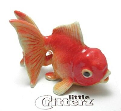 """LC242 Fantail Goldfish named """"Fancy""""-Porcelain Figurine(buy 5 get 6th free)"""