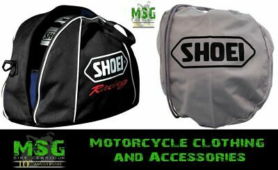 Genuine Shoei Fleece Lined Helmet Racing Bag Or Cloth Helmet Bag