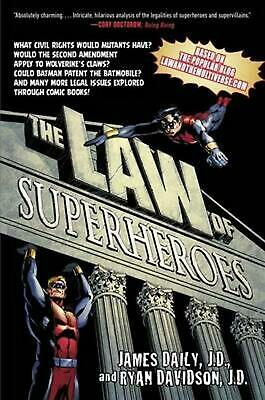 The Law of Superheroes by James Daily Paperback Book (English)