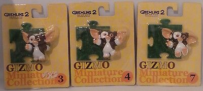 Gremlins : 3 Gizmo Carded Figures From Gremlins Ii Made In 2000 By Jun Planning
