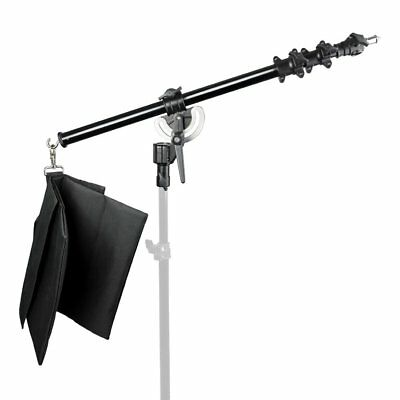 Heavy Duty Studio Telescopic Boom Arm with Metal Hinge MAX 160cm Location Sturdy