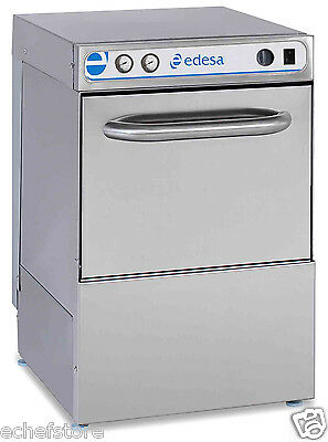 ASBER 35 Racks/Hr Undercounter Dishwasher with Booster ED-30W DPH