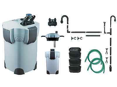 Aquarium Fish Tank External Filter - 1000 Litre  9w UV Steriliser +  Free Media