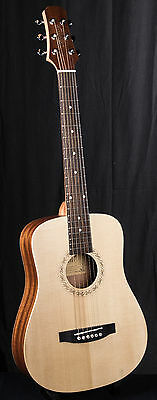 Tonewood KW-612 Solid Spruce Top travel guitar + Gig Bag RRP £159!!