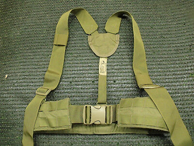 NEW Made in US Military MOLLE 2 Eagle Industries War Belt Tan Khaki Coyote 32-47