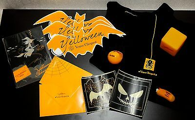 Champagne Veuve Clicquot Ponsardin: Yelloween Halloween Packet A, Many Items !!