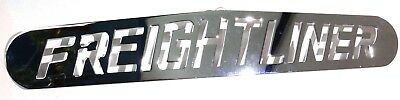 """mud flap plate 4""""x24"""" FREIGHTLINER chrome stud mount for Freightliner rear each"""