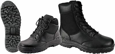 """Forced Entry 8"""" or 6"""" Black Tactical Boot - Security, Police, SWAT, Work Boots"""