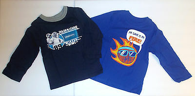 The Childrens Place Toddler Boys T-Shirts Long Sleeve Sports Sizes 2T 3T 4T  NWT