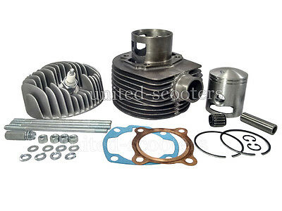 VESPA PX LML CYLINDER PISTON KIT AND SPARES FOR 150 cc 5 PORT P2022