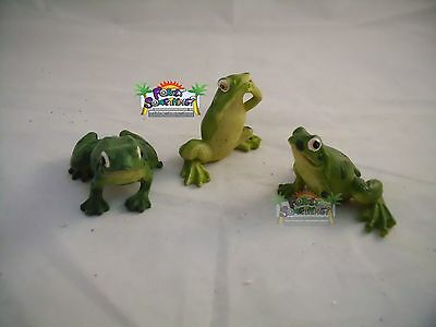 Brand New Poly Resin  Frogs Set Collectibles # 2