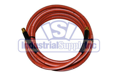 "Goodyear 1/4"" x 25ft Rubber Air Hose 200 psi"
