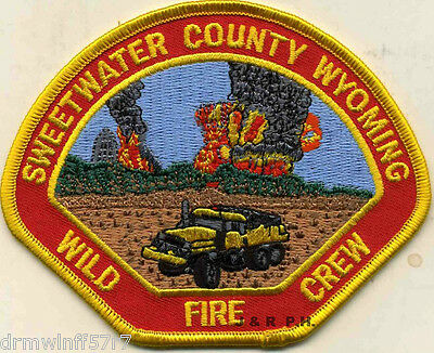 """fire patch of Agriculture Wildland 3.5/"""" x 3.5/"""" size - Dept U.S.F.S"""