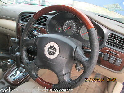 Subaru Outback 2001 Momo Drivers Air Bag With Wood & Leather Steering Wheel