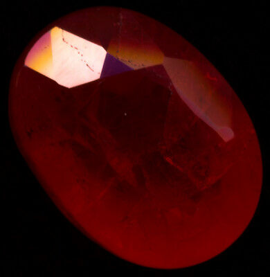 Ruby Oval 6.8ct 12x8 Lab Created