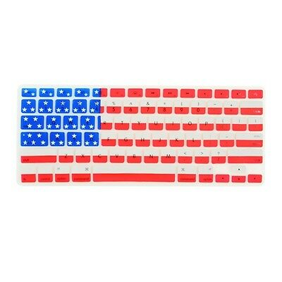 "American Flag Keyboard Cover for Macbook Pro 13"" 15"" 17"""
