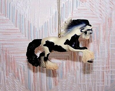 Painted Ponies Don't Fence Me In Christmas Ornament Gypsy Vanner