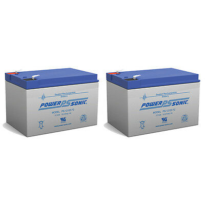 POWER-SONIC 2 PACK - 12V 12Ah F2 Costco 360 Eco Electric Scooter Battery