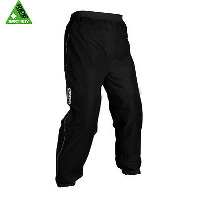Oxford Rainseal Waterproof Motorcycle Reflective Over Trousers - SALE