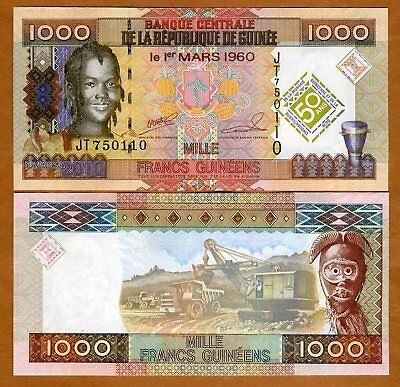 Guinea, 1000 (1,000) Francs 2010, P-43, UNC > Commemorative
