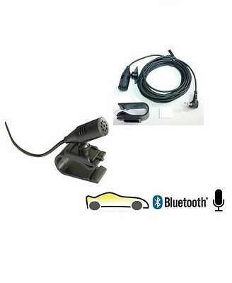 3.5Mm External Bluetooth Microphone Mic Sony Kenwood Alpine Car Stereo Players