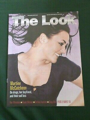 Martine Mccutcheon   - Look Magazine - 30 Sept 2000