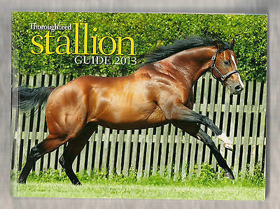 Horse Racing Racehorse Thoroughbred Stallion Guide 2012