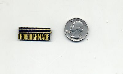 Old Tobacco Tag      Thoroughmade