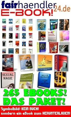 65 + 200 EBooks Wiederverkäufer Resale Cover Posten Sex Erotik Geld Reports MRR