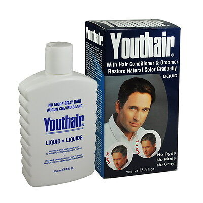 Youthair Hair Conditioner Natural Color Gradually Liquid 8 oz / 236ml