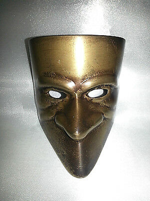 Maschera Bronzo Fermacarte Fantasma Dell' Opera Collection