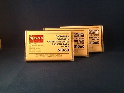 Sparco 51060 Dictating Cassette Tapes - 10 Pack Box