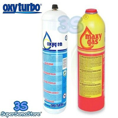 3S Oxyturbo Gas Cylinders & Oxygen Cylinders for the Turbo Set 90 Kit WELDING