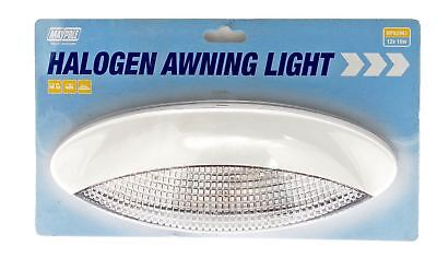 Maypole 82961 Caravan Motor home Boat Awning Light with Halogen Bulb - White