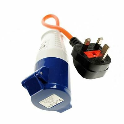 Maypole 230V Volt UK Site Hook Up Lead Adapter Caravan Electrics MP374