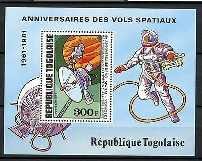 Togo 1981 SG#MS1562 Space MNH M/S #A59721