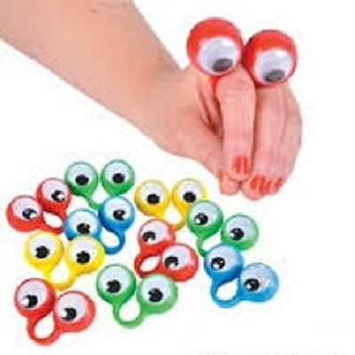 (144) OOBI FINGER EYE HAND PUPPETS Noggin Party Favor Wiggly #BB11 Free Shipping