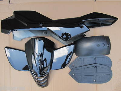 Mini quad bike quadard atv plastics fairing kit complete many colours available